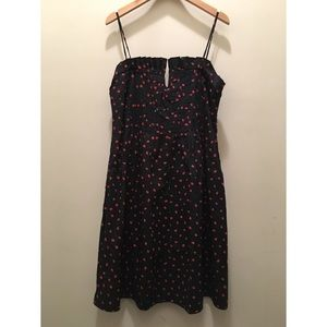 7594fd7d57 Madewell Dresses - NWT MADEWELL Black Pintuck Cami Dress Strawberries